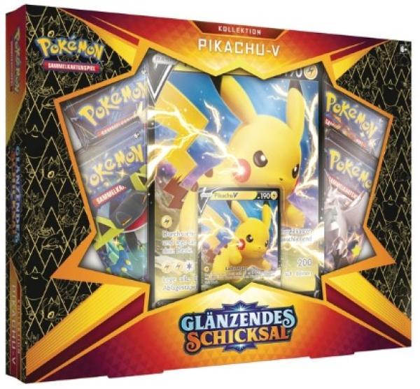 Pikachu V Box