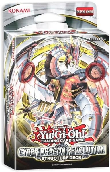 yugioh Structure Deck Cyber Dragon Revolution